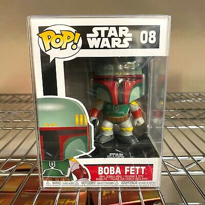 "Funko Pop Disney Star Wars : Boba Fett #08 Vinyl Figure ""MINT"""