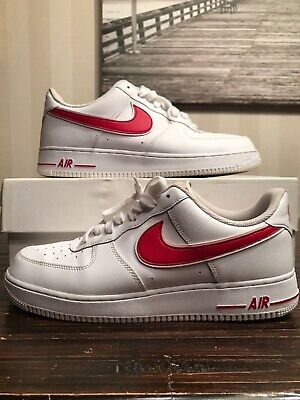 Nike Air Force 1 07 Low Men's Size 9.5 White Green Cosmic
