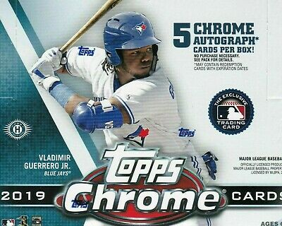 2019 TOPPS CHROME BASEBALL * YOU PICK 10 * Complete Your Set +INSERTS REFRACTORS