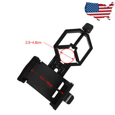 Universal Telescope Cell Phone Mount Adapter for Monocular Spotting Scope US