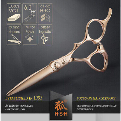 "6.0"" Japanese Style Professional Hair Cutting Scissors -  Durable VG1 Blades"