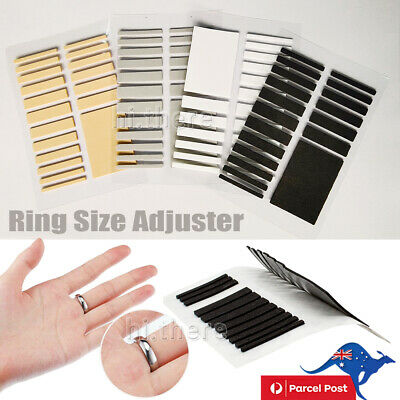 Tighteners Invisible Ring Size Adjuster Set Reducer Pad Resizing Jewelry Tool A+