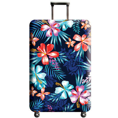 """New Elastic Luggage Suitcase Dust Cover Protector Anti Scratch Washable 18""""-32"""""""