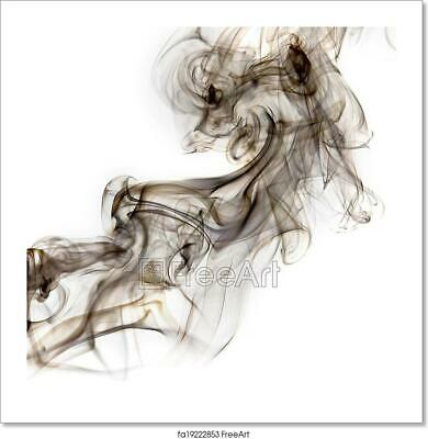 Abstract Smoke  Art/Canvas Print. Poster, Wall Art, Home Decor - C