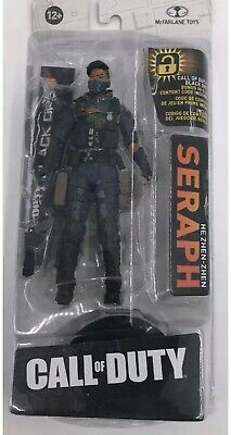 "McFarlane Toys 2018 CALL of DUTY 7/"" Seraph il Zhen-Zhen Action Figure"