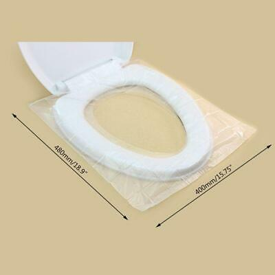 Toilet Seat Covers Individual Packed Slip On Paper for Travel Hotel Disposable