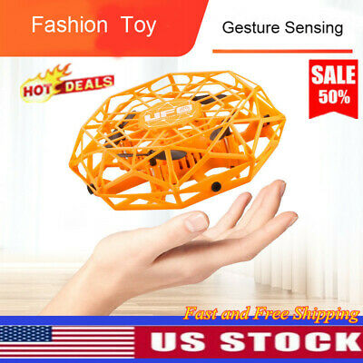 Mini Drones Rotating Smart Mini UFO Drone for Kid Hand Flying Ball Toys