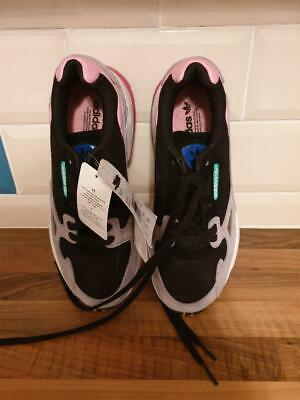 Adidas Falcon Core Black, Light Pink, grey Size 5 EU38 BRAND NEW with tags