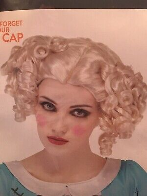 Blonde Curly Costume Wig