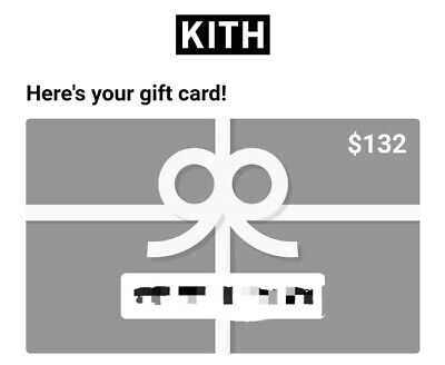 Kith Gift Card (instant delivery)