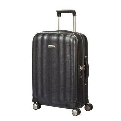 Samsonite Lite Cube 55cm Small Carry On Spinner Suitcase/Luggage Graphite