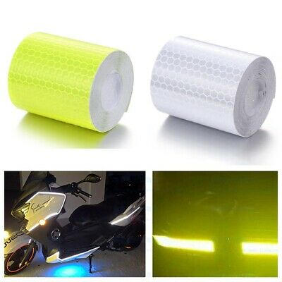 3M High Intensity Reflective Tape Self-Adhesive Car Safety Warning Stickers New