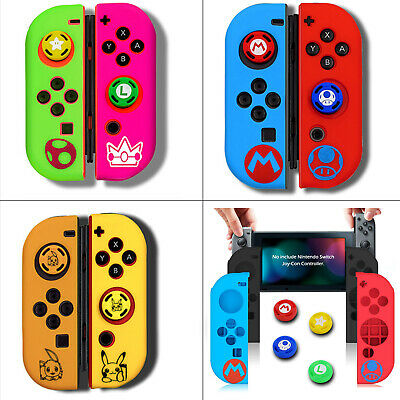 Protective Cover Button Joystick Caps for Games Switch Joy Con Controller New