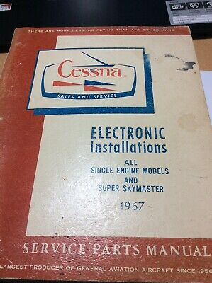 CESSNA Electronic Installation Manual All Single Engine Models & Super Skymaster