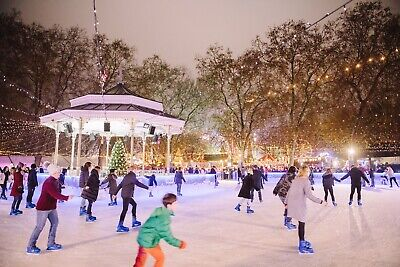 Winter Wonderland Ice Skating In Hyde Park- 1 X Adult 1 X Child - 3pm 24/12/19