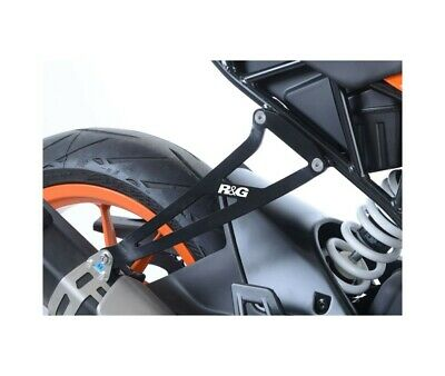 Ktm Rc 125 / Rc 390 - 16/18 - Support Echappement R&G Racing- Eh0080Bka