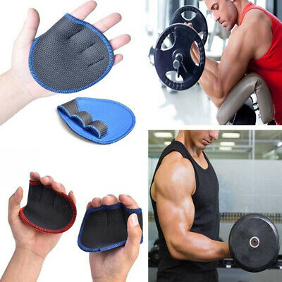Grips Weight Lifting Training Gloves Dumbbell Grips Pads Hand Palm Protector