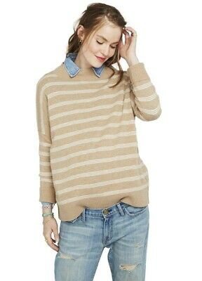 Hatch Maternity THE CLEMENTINE SWEATER Extra Fine Merino Wool Size 1 (S/4-6) NEW