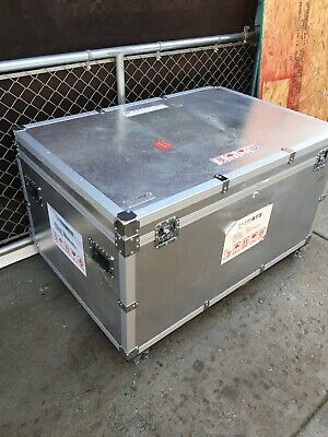 50Wx34Lx27 Cargo Safe BoxStrong Aluminum With Full Padding Musician Moving Stora
