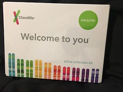23andMe ANCESTRY DNA Test Kit + PREPAID Lab 23 and me. BRAND NEW /SEALED