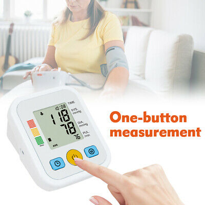 Automatic Upper Arm Digital Blood Pressure Heart Pulse Meter Monitor Health Gift