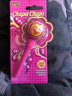 Chupa Chups Rasberry Lip Gloss Freepost To16