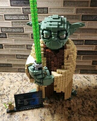 Yoda Lego  1771 peices Assembled for lazies Proudly Assmbled in USA