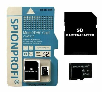 32Gb Micro Sd Speicherkarte Sd Kartenadapter Card Reader Universal Handy Tablet