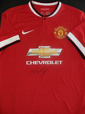 WAYNE ROONEY Signed MANCHESTER UNITED Shirt ENGLAND Legend COA