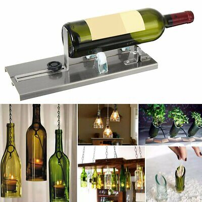AU Glass Bottle Wine Cutter Machine Beer Jar Recycle Craft DIY Cutting Tool Kit