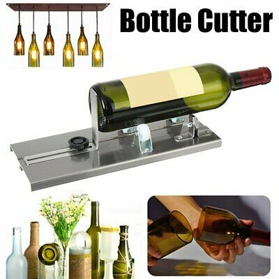 Glass Bottle Cutter Beer Wine Jar Cutting Machine Recycle Craft DIY Tool Kit