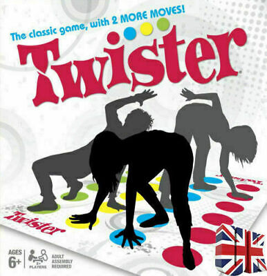 Funny Twister The Classic Game Body Game With 2 More Moves Family Party Games UK