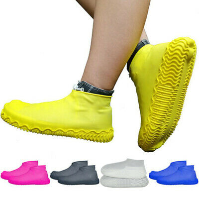 Waterproof Rain Snow Boots Shoe Covers Hiking Reusable Overshoes Cover OSG