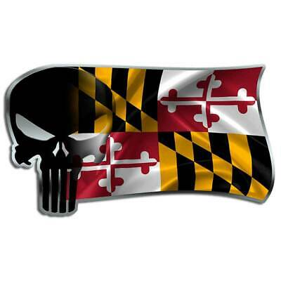 Protect Our Flag Southern flag decal Truck Punisher Skull Mississippi State