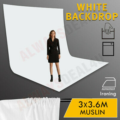 Studio T-Type Backdrop Stand Heavy-Duty Video Photo Background Support KIT+BAG