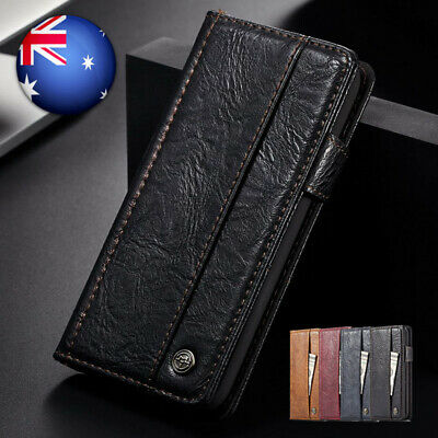 Luxury Magnetic Leather Wallet Card Case Flip Cover For iPhone XS Max X XR 6 7 8