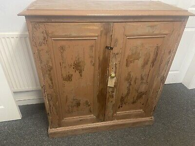 Vintage Cabinet / Cupboard with Original Paint