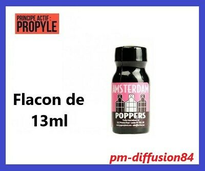 1 POPPERS Au Choix - AMSTERDAM - GIRLY POWER - FUCK ME - JUNGLE JUICE - 13ml