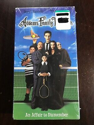 Addams Family Reunion Brand Bew Sealed 1997 VHS Warner Brothers
