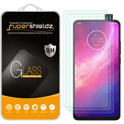[3-Pack] Supershieldz Tempered Glass Screen Protector for Motorola One Hyper