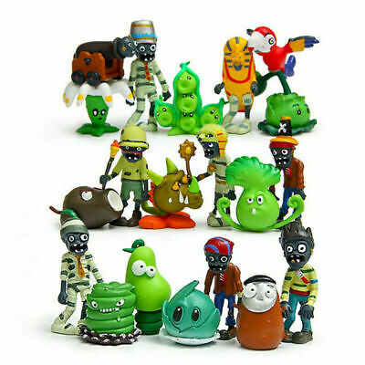 Plants Vs Zombies Egypt Private Wild West 10 PCS Cake Topper Action Figures Toy
