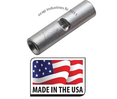 50 pcs Step Down Butt Connectors 18-22 to 16-14 Gauge Wire Splice Reducer USA