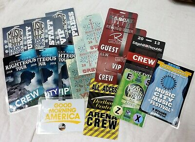 "Backstage Pass Lot Set  Used in Production ""NASHVILLE"" TV Show"