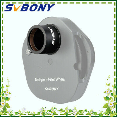 SV148 1.25inch  telescope eyepiece holder to T2 Male M42*0.75 Thread Adapter blk