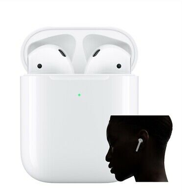 Bluetooth headphones 2nd Generation with Wireless Charging Case
