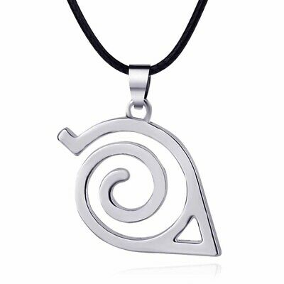 Anime Naruto: Leaf Symbol Necklace Cosplay Costume Accessory Toy Funny Gift