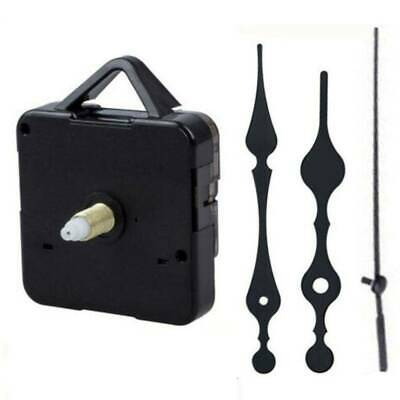 Replacement Quartz Clock Movement Mechanism Repair Parts DIY Tool Kit + Hands