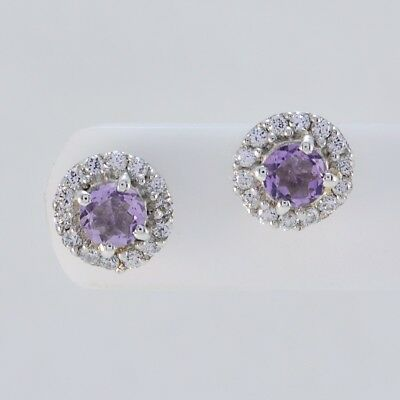 fascinating Amethyst 925 Sterling Silver Purple genuine jewelry CA gift