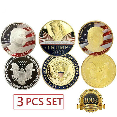 Donald Trump 2020 Challenge Coin Keep America Great President Commemorative Lot