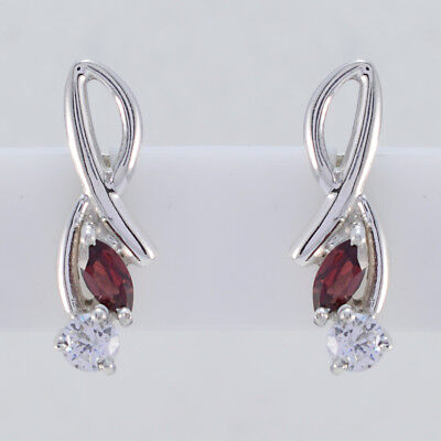 appealing Garnet 925 Sterling Silver Red Natural supply US gift